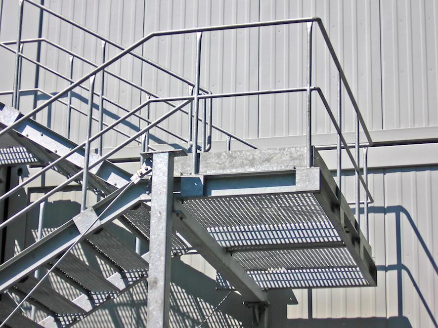 Metal Steps and Staircase Fabrication