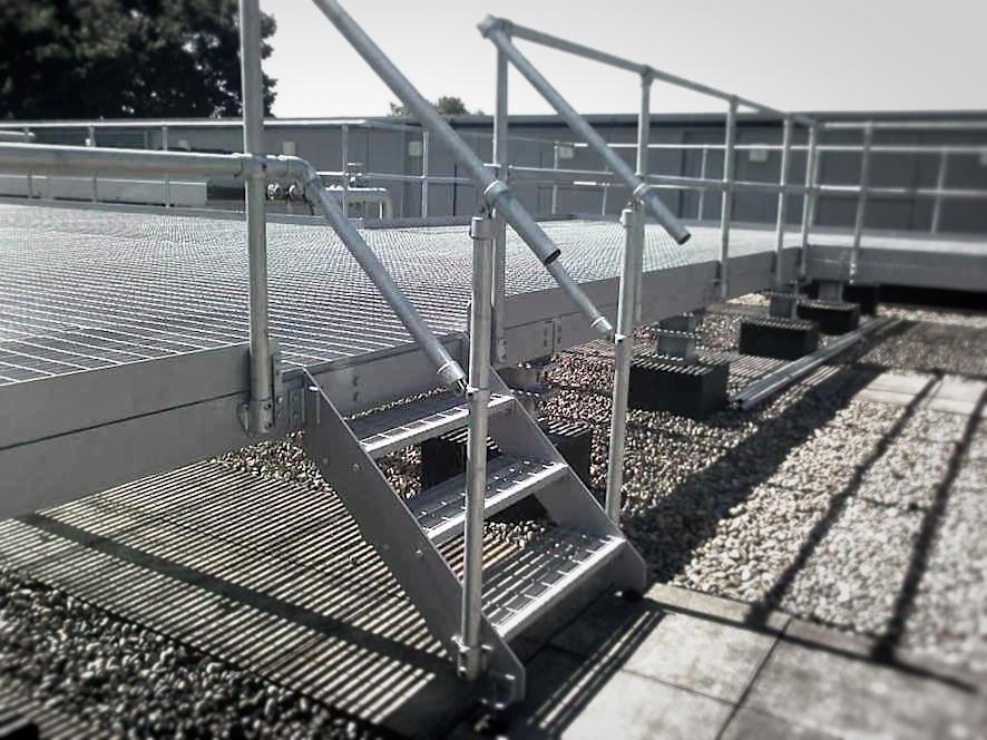 Metal Platform Fabrication