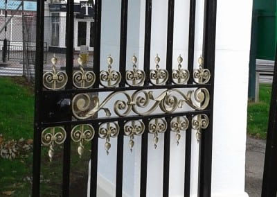 Wrought Iron Gate Repairs for Southend Council at  Chalkwell Park