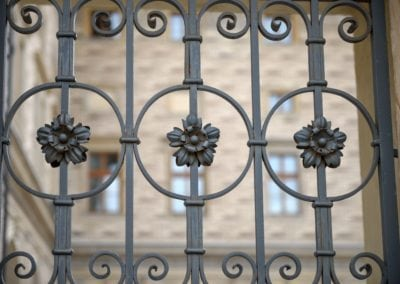 Replacing Wrought Iron Railing Panels