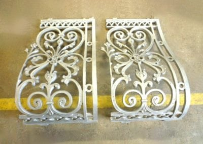 Wrought Iron Railing Panel Fabrication