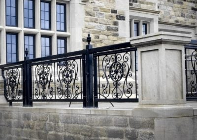 Wrought Iron Railing Panels