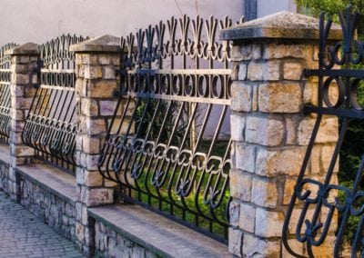 Wrought Iron Railing Panels London