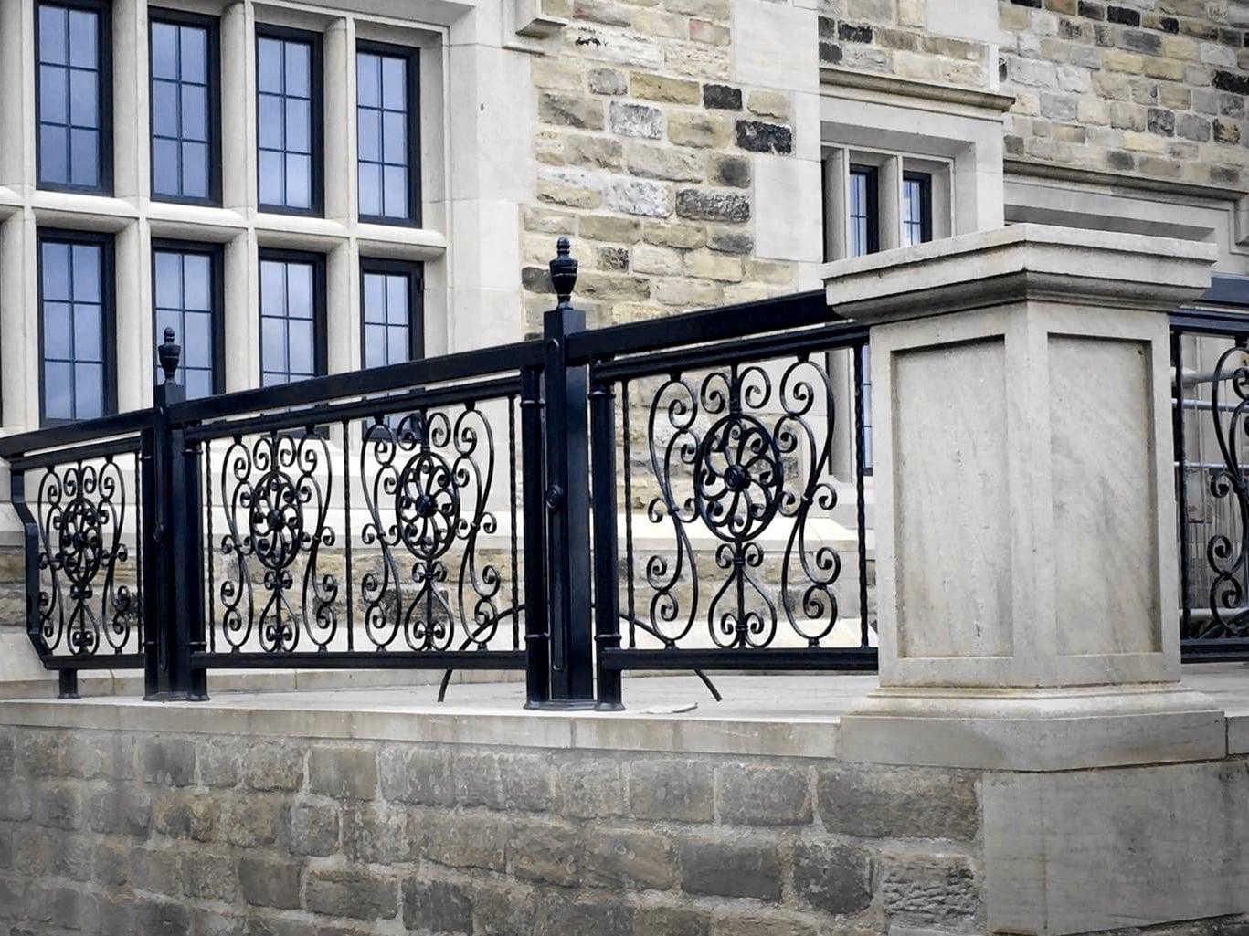 Wrought Iron Wall Panels: Metal Fabrication London