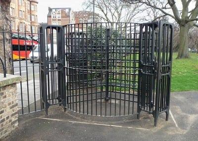 Bespoke Mild Steel Turnstile – Kensington Gardens, London W2