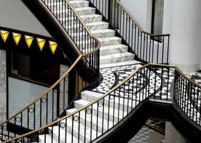 Brass Handrails
