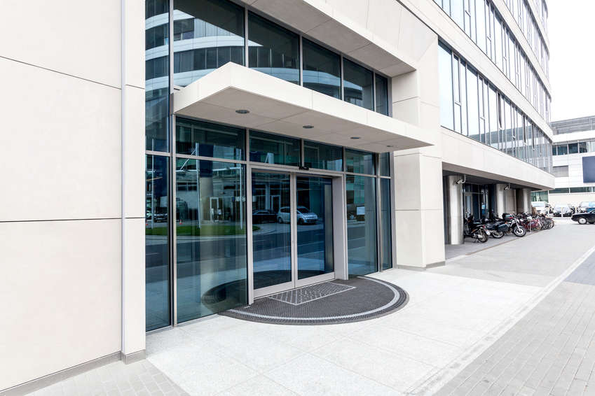 Entrance canopies metal fabrication london - Commercial steel exterior doors with glass ...