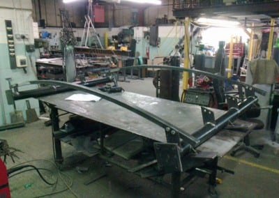 Metal Entrance Canopy Fabrication