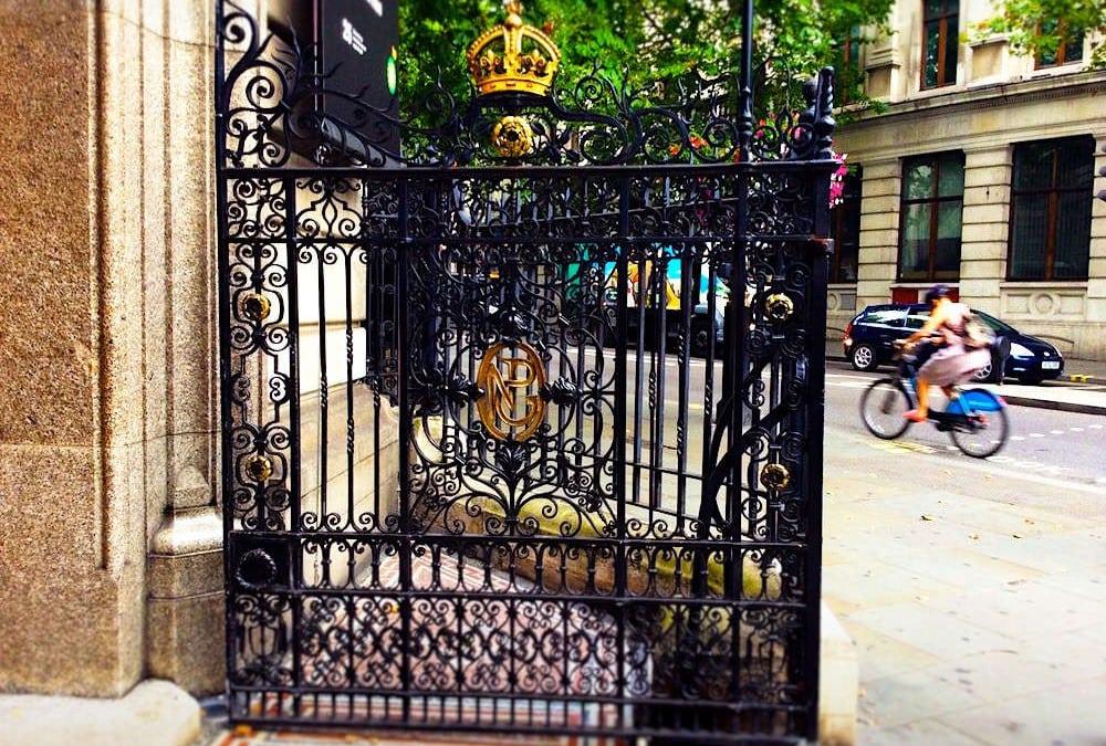 Entrance Gates, National Portrait Gallery, London WC2