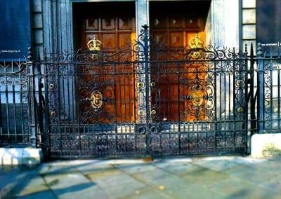 entrance-gates-national-portrait-gallery-london-wc2