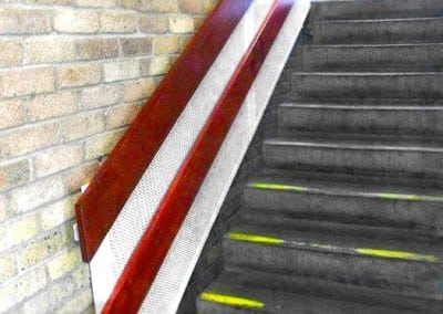 Handrail Improvements, Whipps Cross University Hospital, London E17
