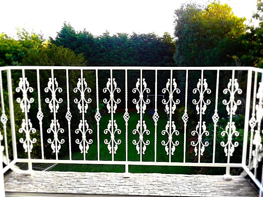 Matching Juliet Balcony and Window Railings for a house in Loughton, Essex