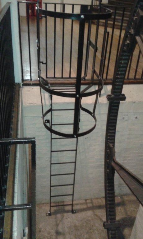 New Ladders And Handrails For Science Museum S Energy Hall