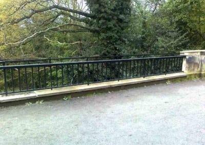 Wrought Iron Handrail Fabrication London