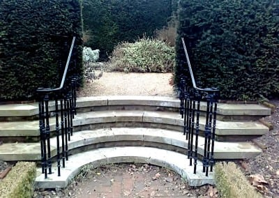 Wrought Iron Handrails, Fenton House, Hampstead, London NW3