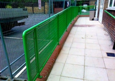 Steel Handrails Lena Gardens Primary School, Hammersmith, London W6