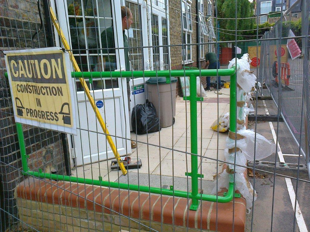 Steel Handrails Lena Gardens Primary School Hammersmith