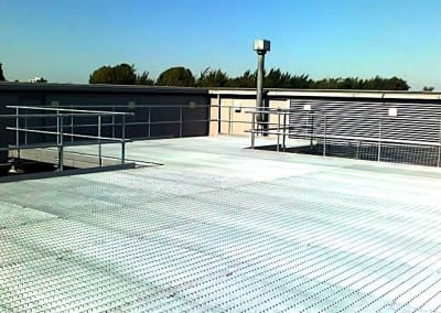 Steel Platform, Energy Centre Roof, Whipps Cross Hospital, London E17