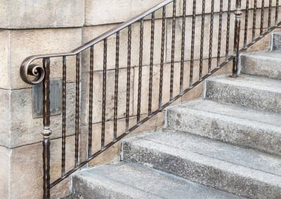 Traditional Metal Handrails