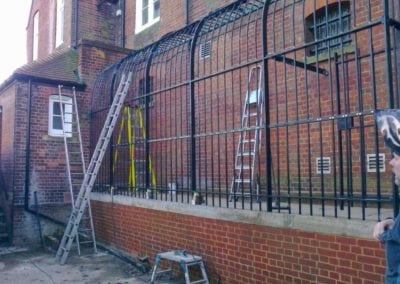 Restoration of Victorian Railings, Saffron Waldon Police Station 4