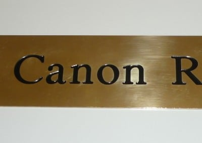Sign - Canon Row