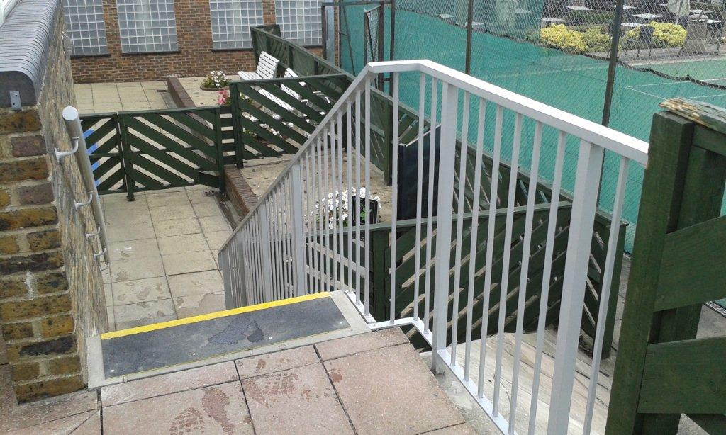 Aluminium Handrails David Lloyd Club Finchley 06