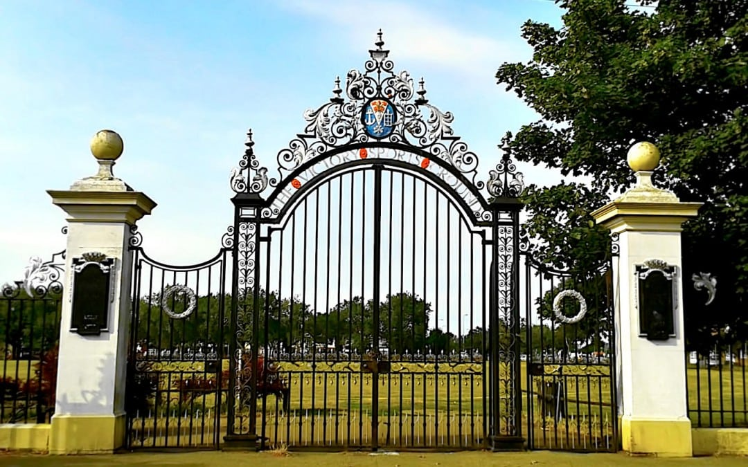 Wrought Iron Gate Restoration – Victory Sports Ground – Southend-on-Sea, Essex
