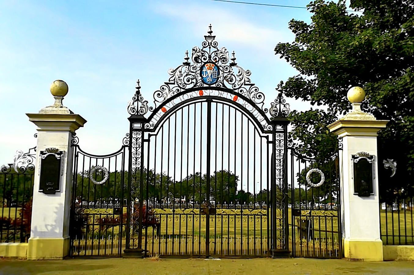 Wrought Iron Gate Restoration – Victory Sports Ground – Southend-on-Sea