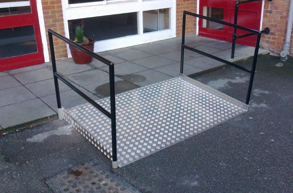 Ramp for St. Anne's Catholic High School, Enfield