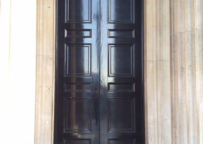 Door Survey, National Gallery London WC2