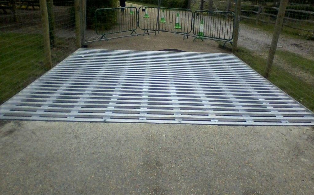 Steel Cattle Grids Wakehurst Place Sussex Metal