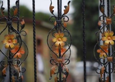 Decorative Floral Railing Panels