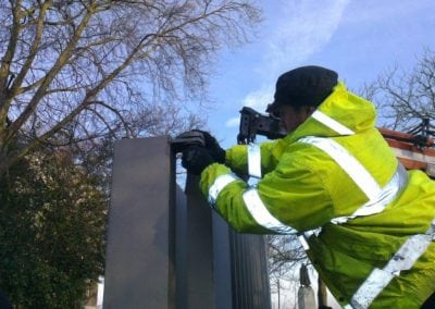 Repairing gates at the Royal Observatory Greenwich