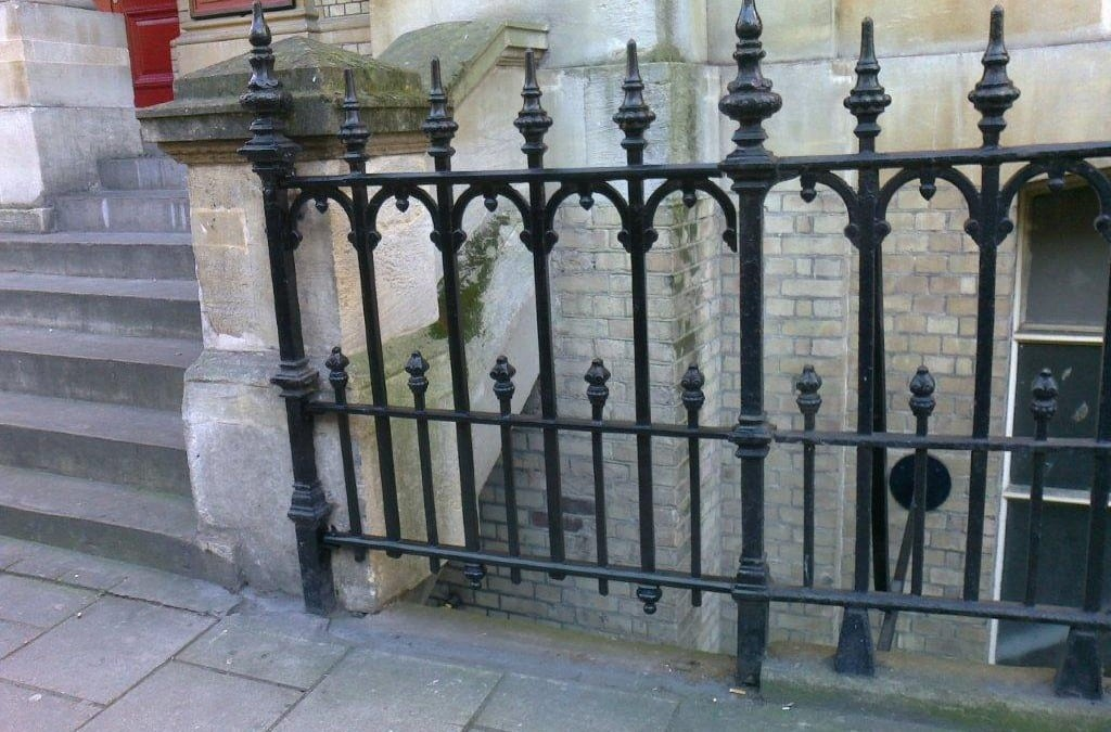 Church Railing Repairs, Grade II Listed Westminster, Hinde Street, London W1