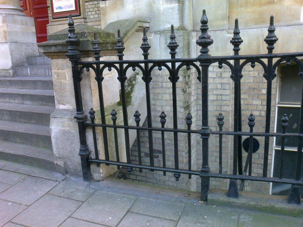 Church Railing Repairs Grade Ii Listed Westminster Hinde