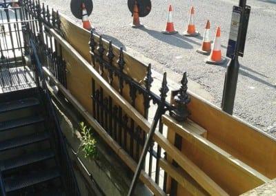 railing-repairs-grade-ii-listed-church-hinde-street-methodist-church-07
