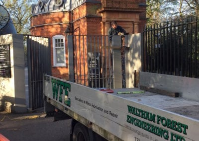 Heritage Gate Repairs London Cast Iron Mild Steel Gates Royal Observatory Greenwich London 1