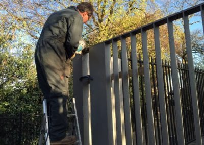 Heritage Gate Repairs London Cast Iron Mild Steel Gates Royal Observatory Greenwich London 2
