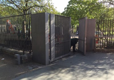 Heritage Gate Repairs London Cast Iron Mild Steel Gates Royal Observatory Greenwich London 4