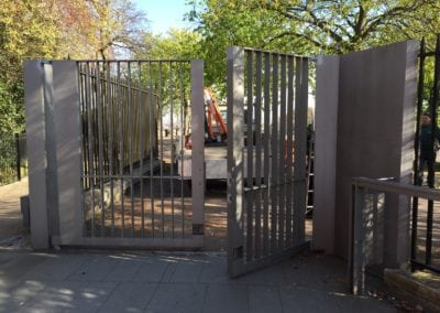Heritage Gate Repairs London Cast Iron Mild Steel Gates Royal Observatory Greenwich London 5