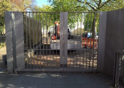 Heritage Gate Repairs London Cast Iron Mild Steel Gates Royal Observatory Greenwich London 6