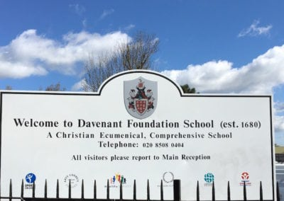 Plaques and Signs for Davenant