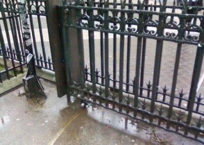 Metal Gate Repair South Kensington Underground Station Natural History Museum