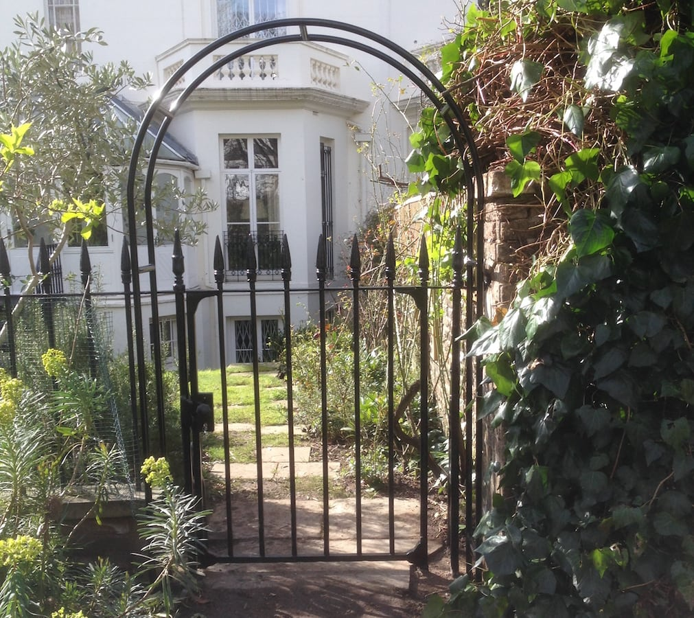 Wrought Iron Metal Victorian Gate Repair Amp New Arch