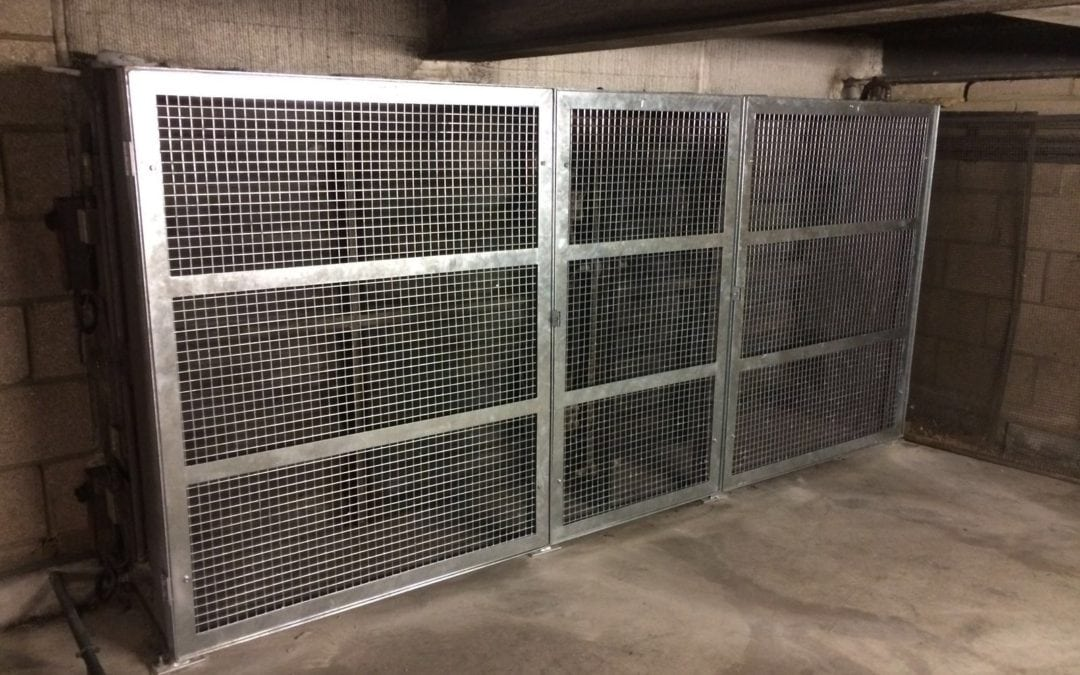 Metal Cages for Air Intake Units for Grade I listed Royal Albert Hall, Kensington, London SW7