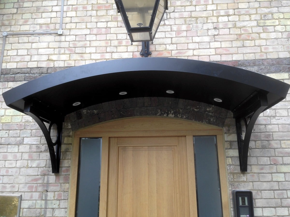 Metal Entrance Canopy H&stead & Metal Entrance Canopy Hampstead London NW3 | Metal Fabrication London