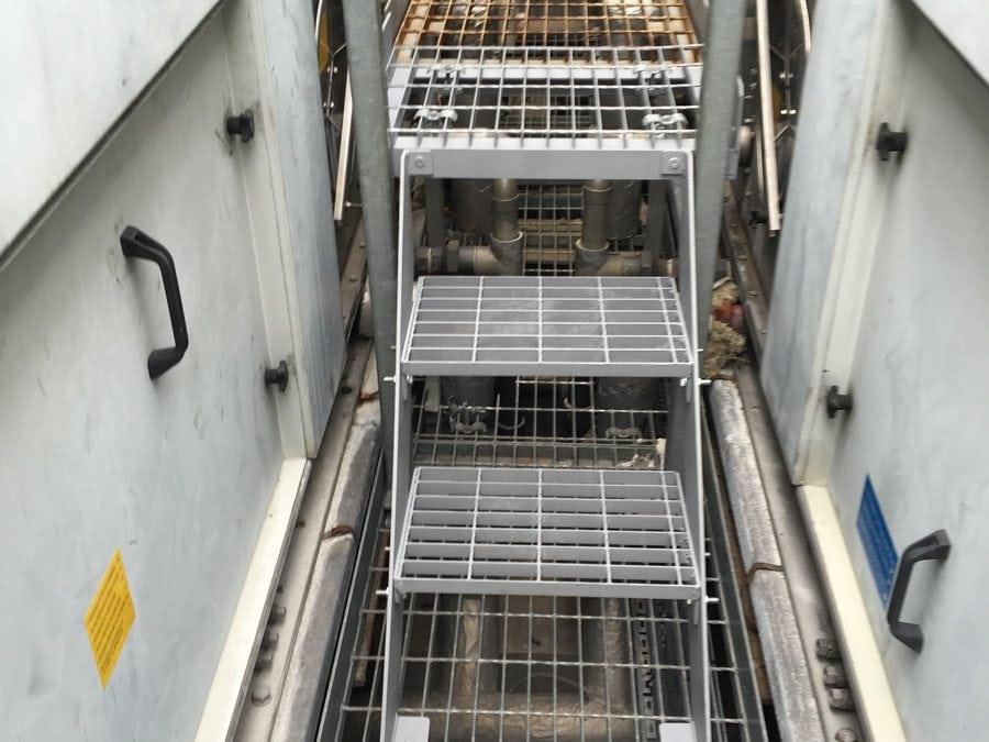 Metal Steps and Walkways, Unilever House, London, EC1