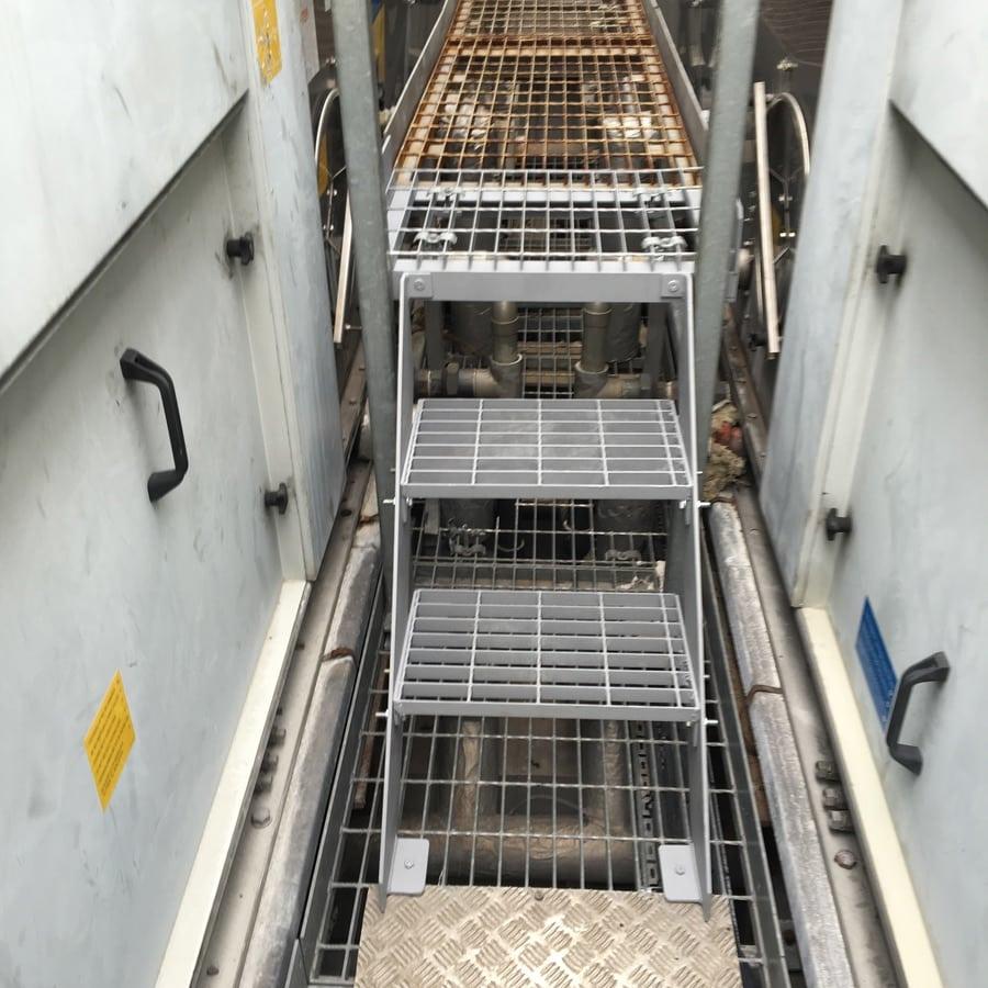 Metal Steps And Walkways Unilever House London Ec1