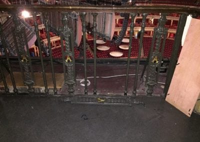 Wrought Iron Ballustrade Panels and Spindles Royal Albert Hall London 2