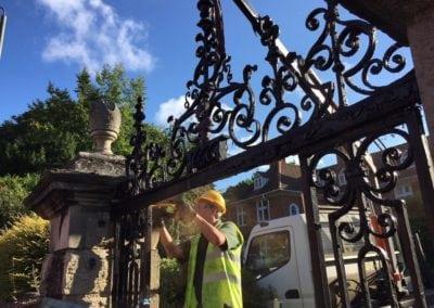 metal-gate-repairs-bromley-college-gates-9